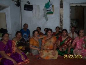 Womenfolk of Kamat family