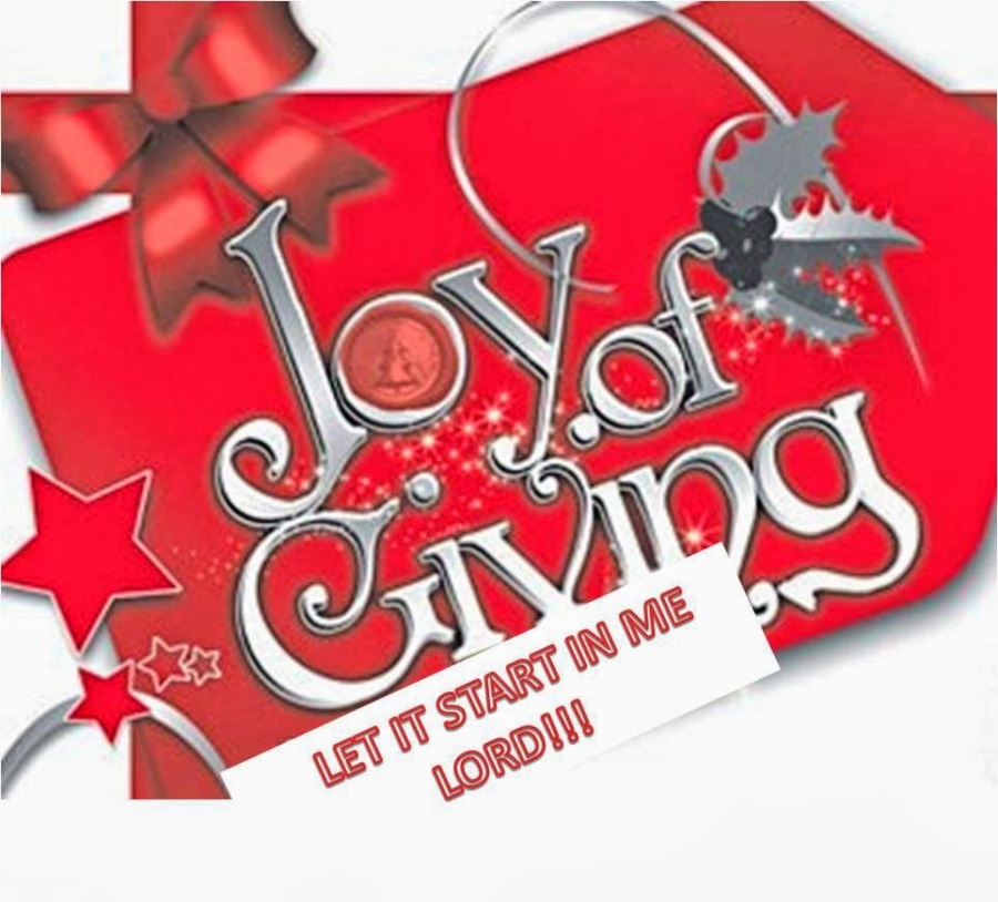 joy of giving-1