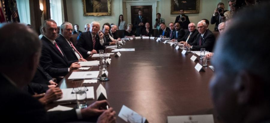 trumph cabinet meeting 14-6-17